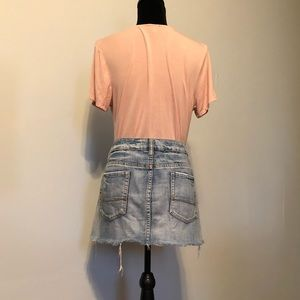 American Eagle Outfitters Skirts - American Eagle Outfitters Cut off Denim Skirt